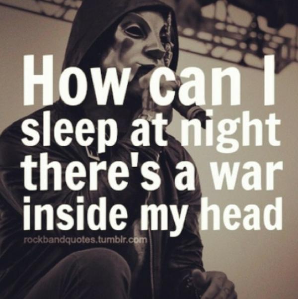 Sleep head quotes