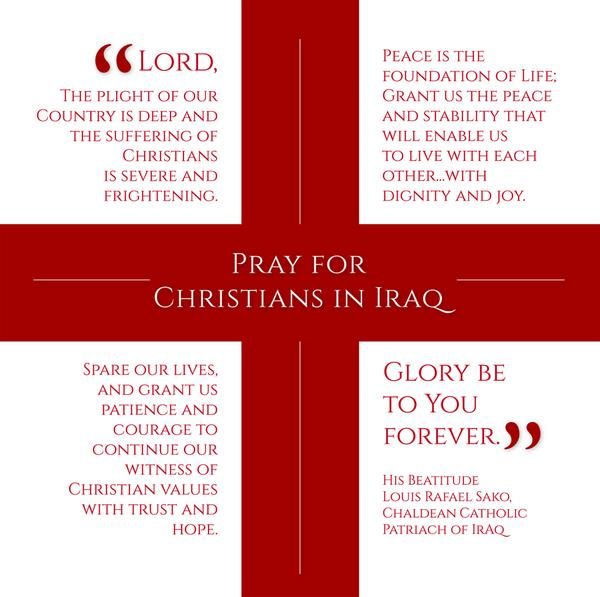 Please join the U.S. bishops and #prayforpeace in Iraq August 17. http://t.co/MWg5AEKK2t