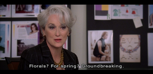 Best. Quote. Ever. RT @Bvaccarini: @labellatanchi  or as @MirandaPrestly once said... #thedevilwearsprada http://t.co/QRSFxsZWez