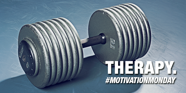 Therapy. #MotivationMonday http://t.co/hElPqaKUYn
