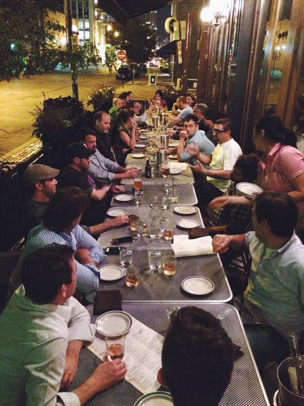 Great chefs coming together to support an even greater cause @AlexsLemonade. Last night after the welcoming party. http://t.co/TM4P8pgEwH