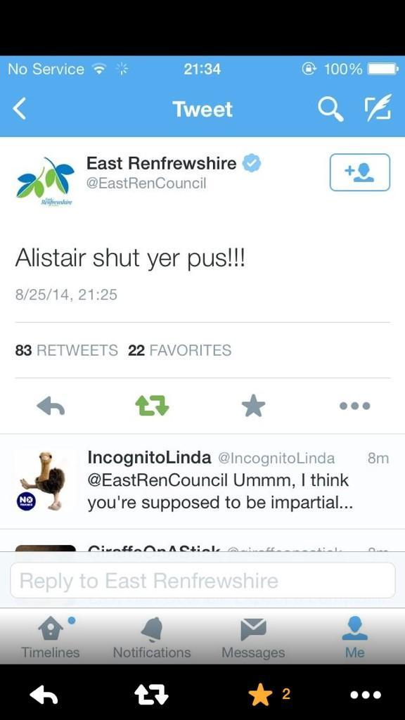 @SkyNews I think @EastRenCouncil has decided! #indyref http://t.co/TXhhOiAScr