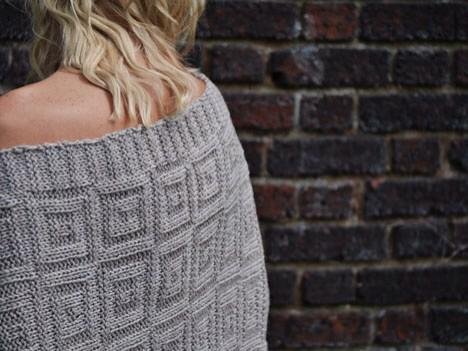 NEW PATTERN -Dutch Tiles- textured motif is wonderfully reversible http://t.co/llw3w7RMNA knit in @BareNakedWools http://t.co/F0bol6kZIM
