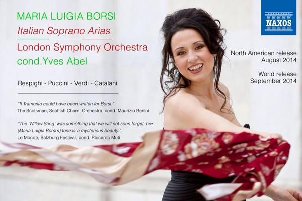 "This is a must buy! Maria Luigia Borsi:  ""Italian Soprano Arias"" On Amazon & iTunes http://t.co/FR7Rh0EjH1 Follow @MLBorsi via @OPERANEWS"