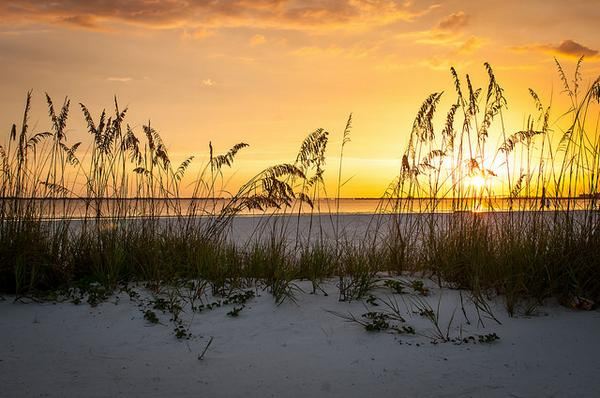 Seriously though. How beautiful is this #sunset in@FtMyersSanibel  - #Florida has some of the best int he world! http://t.co/2bbbPAj3Nj