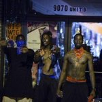 """@illumynous: WHAT THE NEWS WONT SHOW: 2 CRIPS & a BLOOD gang member preventing people LOOTING this shop. #Ferguson https://t.co/A0i7gTRZ2g"""