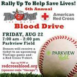 RT @VisitFortWayne: On August 22, donate blood between 7 AM-2 PM at Parkview Field and receive tickets to a future @TinCaps game! http://t.co/urryqg9bbx