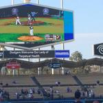 Lots of interest in Little League WS, theyre even playing it on the Jumbo Screens @Dodgers stadium http://t.co/igkWA75L0v