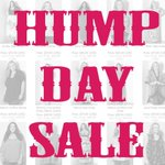 RT @SWAKDesigns: HUMP DAY SALE! Take 50% off all sale & clearance items until 7pm PST! Go to http://t.co/5M2gRzdWk9 for the code! http://t.co/USl75CCIJl