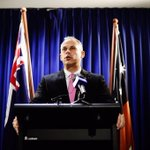 Giles announces the resignation of Dave Tollner #DarwinNT #Topend http://t.co/zGBuK8POzu