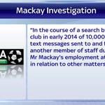 The Malky Mackay story is dominating Good Morning Sports Fans. The LMA have released a statement on the issue: 1/3 http://t.co/ZsZuH0JOw6