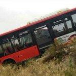 RT @heraldoes: Un autobús urbano cae por un terraplén en las cocheras de Auzsa. http://t.co/E2GEzGOSS7 #Heraldo #Zaragoza http://t.co/z1I1r906er