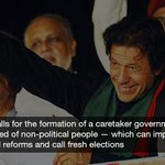 RT @dawn_com: Imran says he wants to talk but govt cannot ensure justice: report | http://t.co/H75zWfb07u http://t.co/8CAPShxEpJ