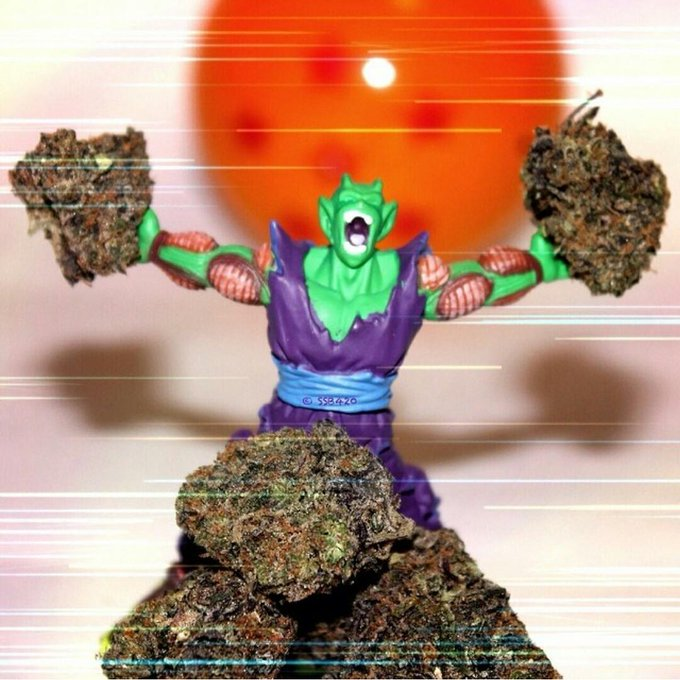 How I feel when I get that real good kush :) #Ganja #Piccolo http://t.co/X2twBdMy2y