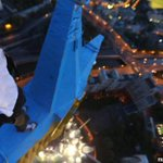 Ответственность за украинский флаг на звезде высотки на себя взял украинский руфер http://t.co/9gnIpuZkEL http://t.co/J7GNEQB63b