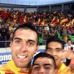 Así se festejó el gol de la Monarquía #SelfieMonarca. http://t.co/GAZ7OM75lU