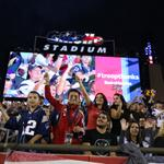 RT @Patriots: Saluting our troops @GilletteStadium! @BofA_Community donating to military nonprofits for each fan here. #troopthanks http://t.co/wpuQUxMVNU