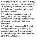"RT @NHAparty: 10 reasons why Camerons wrong to say ""It doesnt matter who provides NHS care as long as its free at point of use"" http://t.co/COlwgsnsEW"