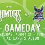 Its a #Rowdies gameday!!!!! Dont have your tickets? Call (877) ROWDIES or visit http://t.co/vpkXMp0blx. http://t.co/XkaveT7Tdr