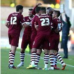 RT @ntfc: The Cobblers players celebrate Emile Sinclairs late equaliser http://t.co/DGSGLfxBbf