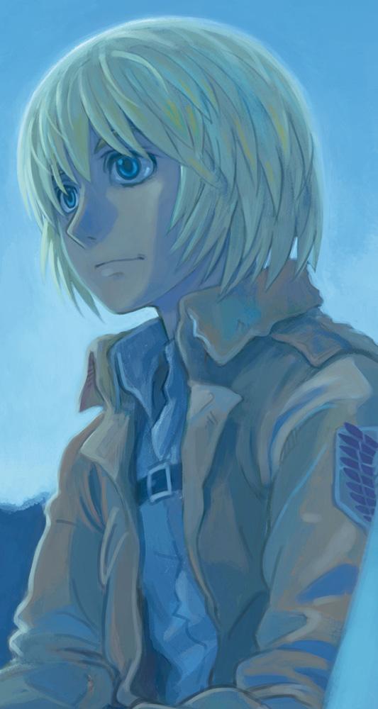 ダヴィンチ今月号の進撃特集でアルミンのイラスト描いてますけど。 pic.twitter.com/CTYp71ujlQ