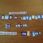 Äntligen har Sverigedemokraternas klipp- och klistra-kuvert kommit! http://t.co/0aLL9vqYt9