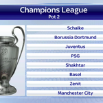 RT @SkySportsNewsHQ: And here is pot two. Liverpool are in pot 3. Draw coming up tomorrow on #SSNHQ from 4.30pm. #UCL http://t.co/plUPMPSGin