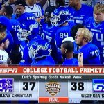 Thats how you kick off the 2014 college football season! Great win for the @GSUPanthers! #GoState #AllBlueAllIn http://t.co/3MKXHLjdiX
