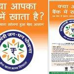 RT @ChaudhryShankar: @narendramodi to launch Jan Dhan Yojna - the scheme aims 2 bring poor ppl into d ambit of d Govts financial program. http://t.co/co7ZEz2UaS