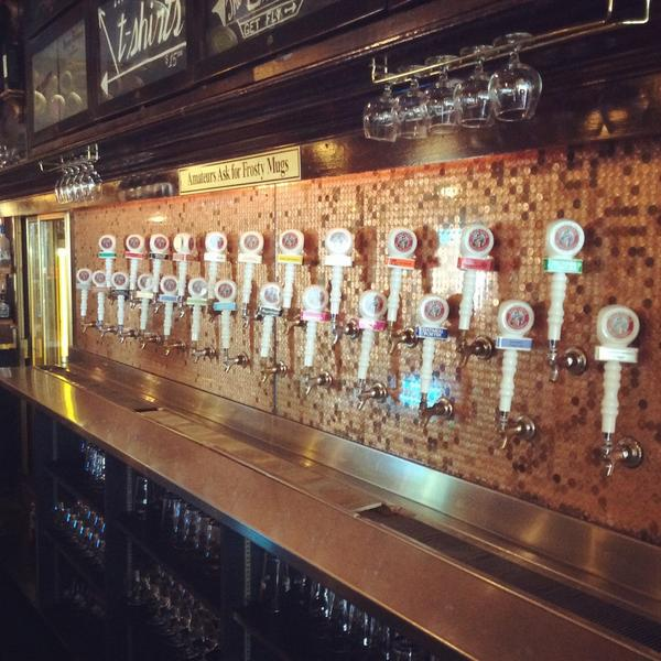 Tap Takeover... Celebrating @HighlandBrews 20th Anniversary with 26 badass brews on draft starting at 6 PM! #RBW14 http://t.co/igK0uLM7zR