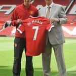 Ángel Di María and Louis van Gaal. #MUFC http://t.co/7X9y9iYmKK