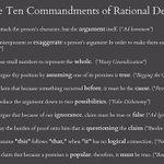 Rules for going forward. #ldnont #ldnvotes http://t.co/ySePjeeNzP