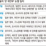 RT @kyunghyang: 일본 신문들이 위안부문제를 둘러싸고 거친 '지면논쟁'을 벌이고 있습니다. 아사히신문이 30여년 전 일부 위안부 기사가 오보였다고 최근 인정, 보수 신문이 공격하고 있네요.http://t.co/AQtDG5e2B6 http://t.co/52v2nhHuqL