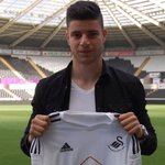 Oh RT @SwansOfficial: #Swans complete signing of highly-rated #nffc striker James Demetriou - http://t.co/1MbQjhUsDk http://t.co/RpNfSbdRup