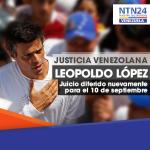 RT @NTN24ve: Difieren nuevamente la audiencia de juicio de Leopoldo López [Actualización] http://t.co/cVVDngYsVS http://t.co/EiAFW9Sw4d