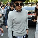 [NEWSPIC] 140829 Donghae at KBS Building! http://t.co/OXQ2sRbIBT