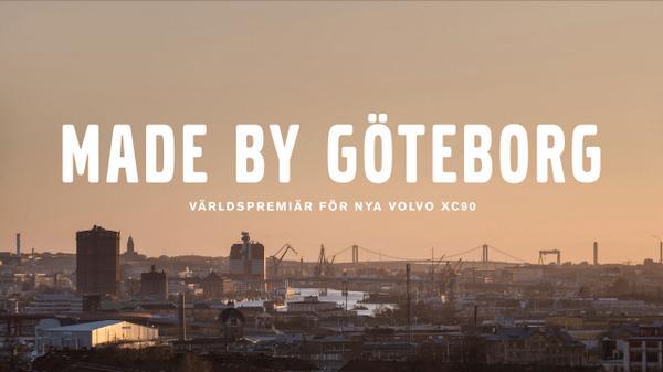 Annons: Volvos nya XC90 är en hyllning till staden och folket som skapat den #madebygöteborg http://t.co/EBve015lHK http://t.co/rLwA6fwDcz