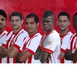 XI: Rubén; Ximo, Trujillo, Dos Santos, Dubarbier; Verza, Thomas, Edgar, Jonathan, Soriano y Hemed #vamosalmería http://t.co/VVz2e4u9zQ