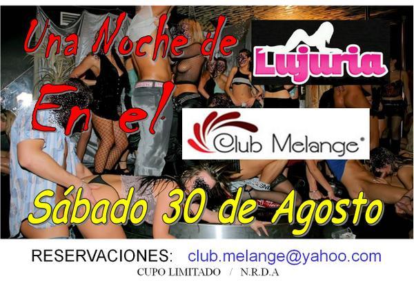 Club Melange (@ClubMelange): Todos invitados a la Fiesta del Año!! La noche de Beto y Edith!! http://t.co/dXtJQLb3o6