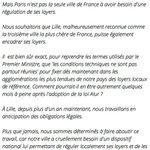 RT @infos140: ????AUBRY-VALLS Lintégralité du communiqué de la maire de Lille (via @leLab_E1) http://t.co/zT7BgTwoTc