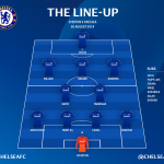 Heres the @chelseafc line-up... #CFC http://t.co/rtDP6ENOEN