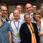 RT @HES_France: Visite surprise sur le stand dHES de @ChTaubira. #TaubiraPourTous #Égalité #UEPS http://t.co/RHjdl7jvVd