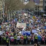 """RT @NicHalley: nothing to see here #auspol """"@ActOnClimate: Thousands protest in Melbourne#MarchInAugust http://t.co/m1MfBHvUIn"""""""