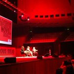Writing is a solo creation, TV is more like being in a band - @emilynussbaum #FODI http://t.co/hjtVaykgR6
