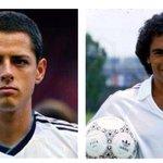 • 1 Septiembre 1985 #HugoSánchez debuta con #RealMadrid • 1 Septiembre 2014 #Chicharito fichado por #RealMadrid http://t.co/VV1alBVay5