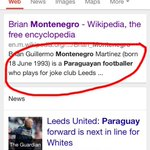 Just doing a bit of research on some of Leeds Uniteds new signings! Does Wikipedia lie?!? @PhilHayYEP #LUFC #MOT http://t.co/MIj5da4IRe