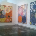 RT @RustySnyder3: See #HilmaafKlints colorful #abstraction at #Taidehalli art museum. #Helsinki #Finland http://t.co/pdM2yWFXd1
