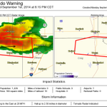 We issued this Tor warning. It includes the city of Welch #arwx #okwx http://t.co/6pjYTGoME4