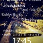Poetry Park... El #Retiro se llena de poesía este viernes. A las 17:45 se abre el micro de @AkropolisPoetry #Madrid http://t.co/iqpIBhjvWQ