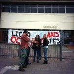 Paro de profesores de enseñanza secundaria. Móvil en vivo para @holavecinos desde el liceo 57 de Maroñas. http://t.co/FcBRBY5j1m